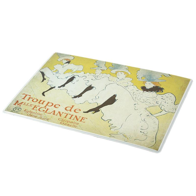 "Mini mousepad Tolouse-Lautrec ""La troupe"""