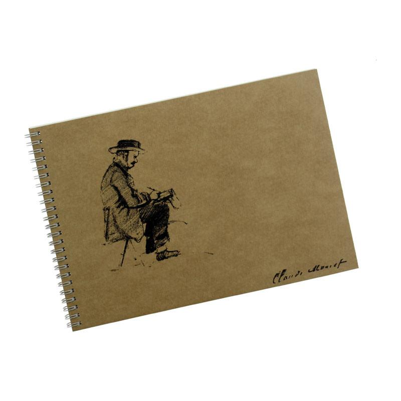 Cuaderno retrato Boudin