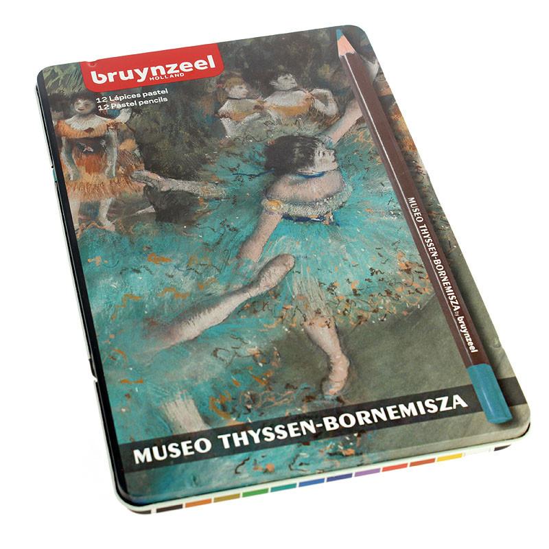 Caja de 12 lápices pastel Bailarina de Bruynzeel