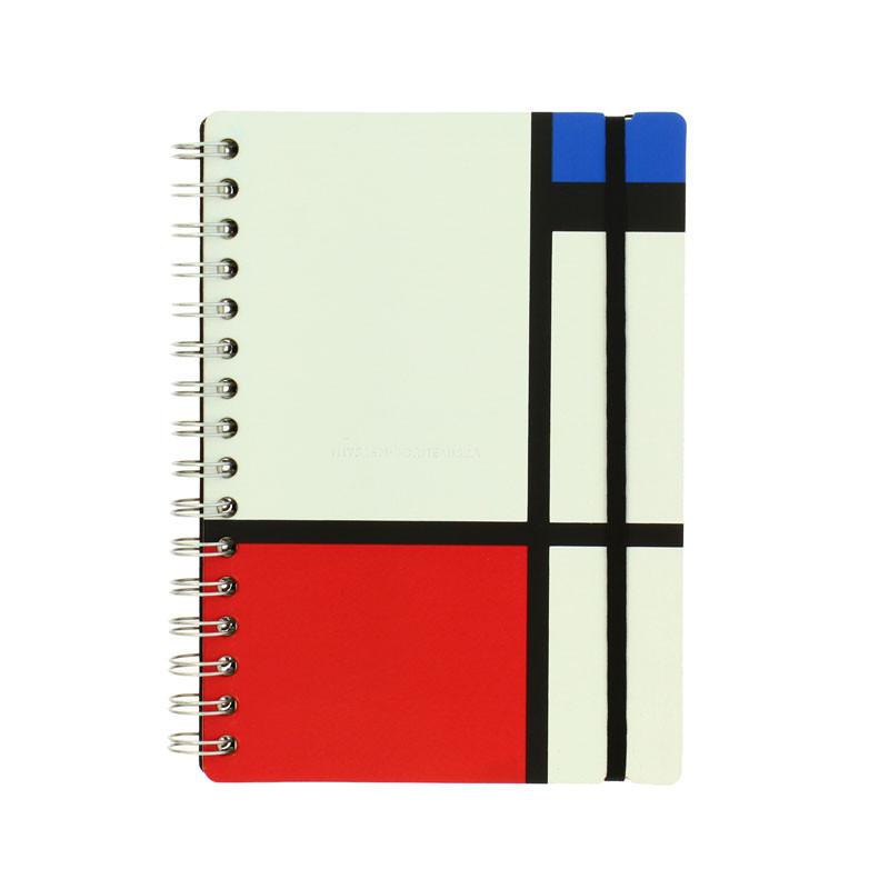 Cuaderno piel reciclada Mondrian