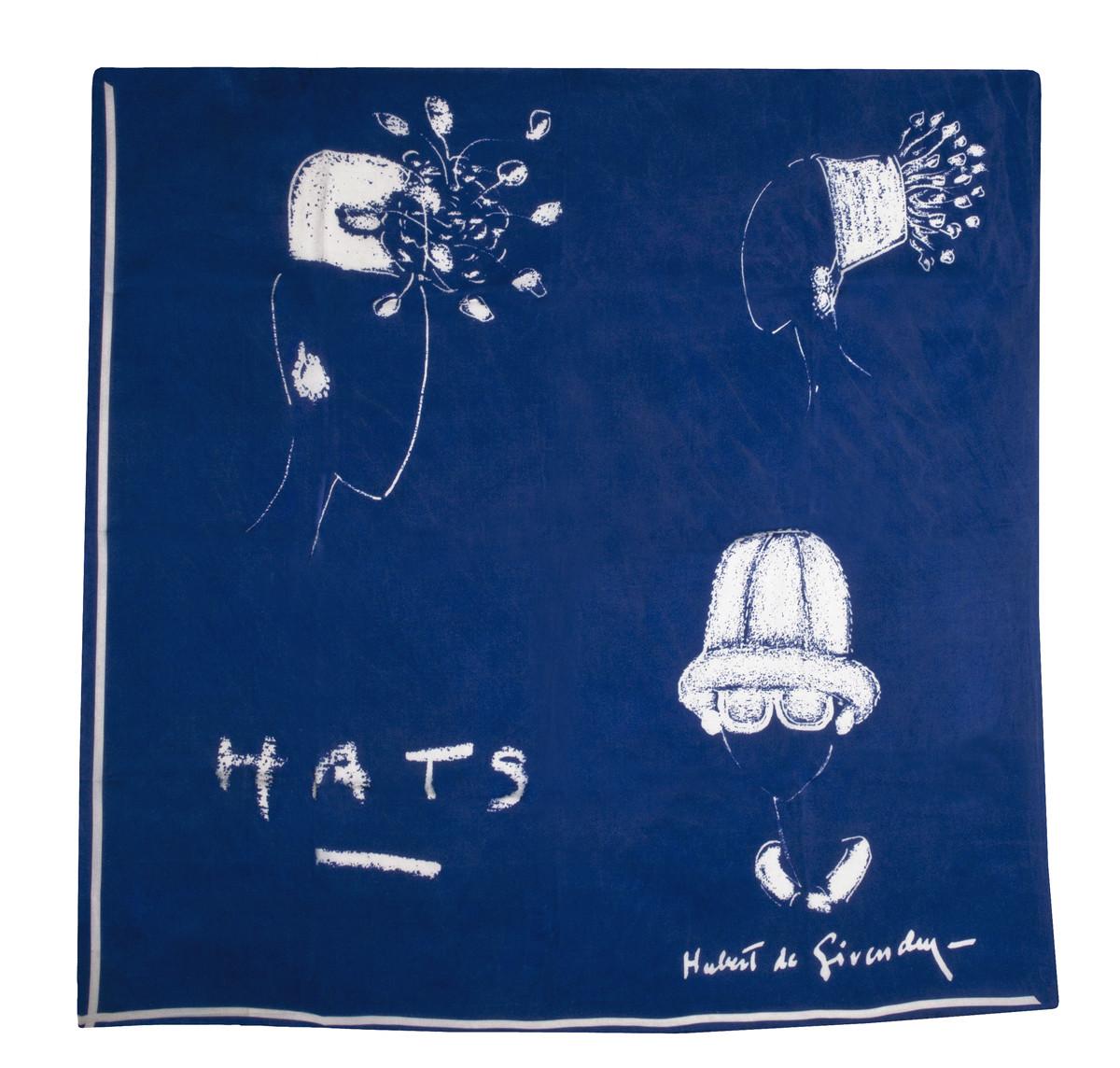 Pañuelo de seda Hubert de Givenchy