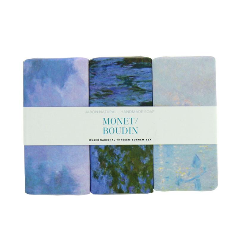 Set 3 jabones Monet/Boudin