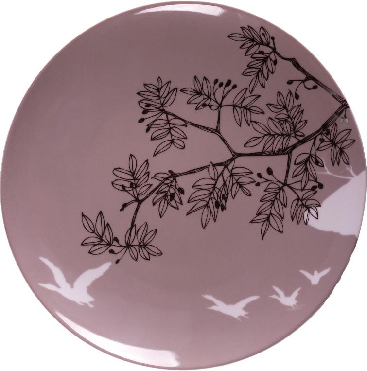 Plato de porcelana John F. Kensett