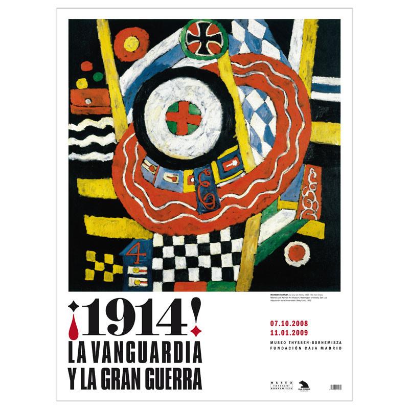 Póster ¡1914! La Vanguardia y la Gran Guerra