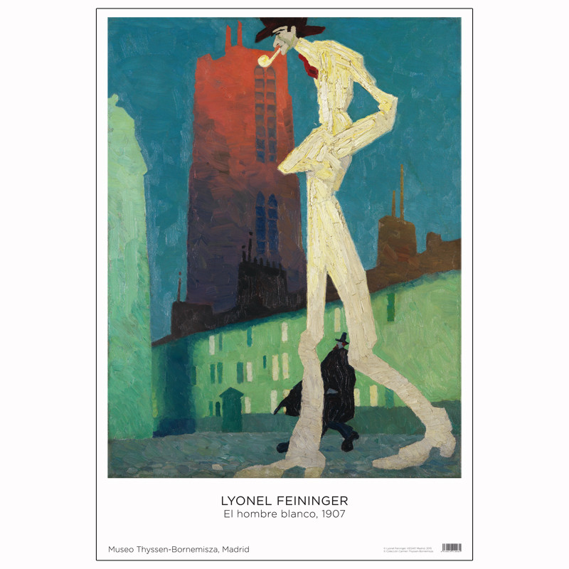 Póster Lyonel Feininger: El hombre blanco