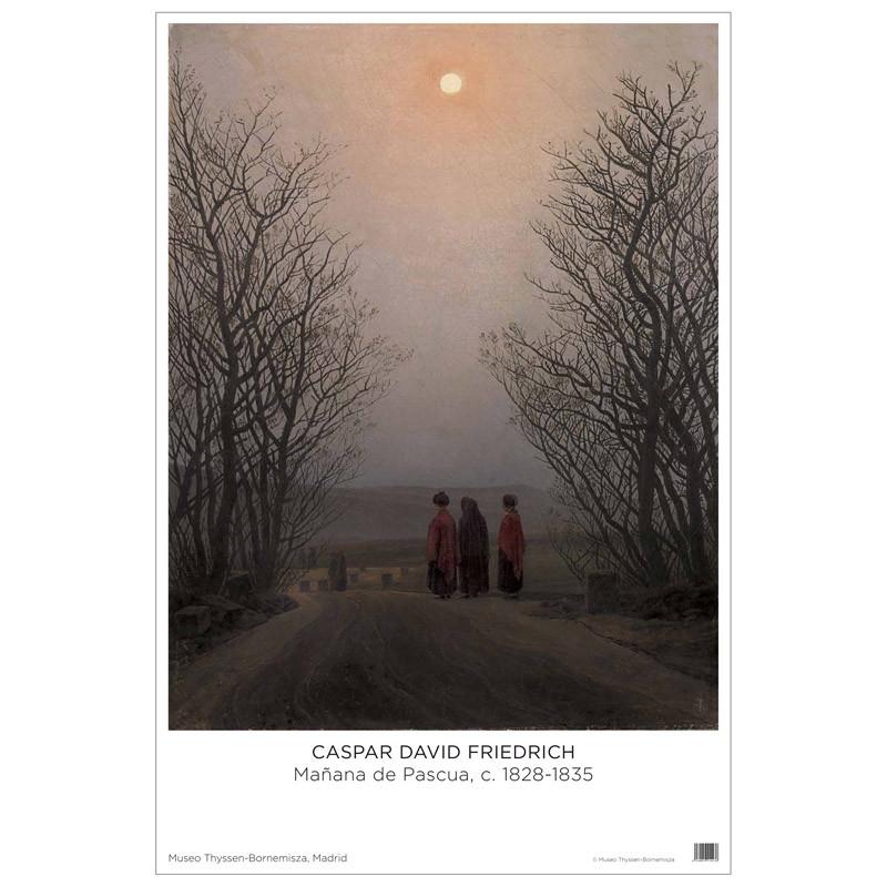 Póster Caspar David Friedrich: Mañana de Pascua