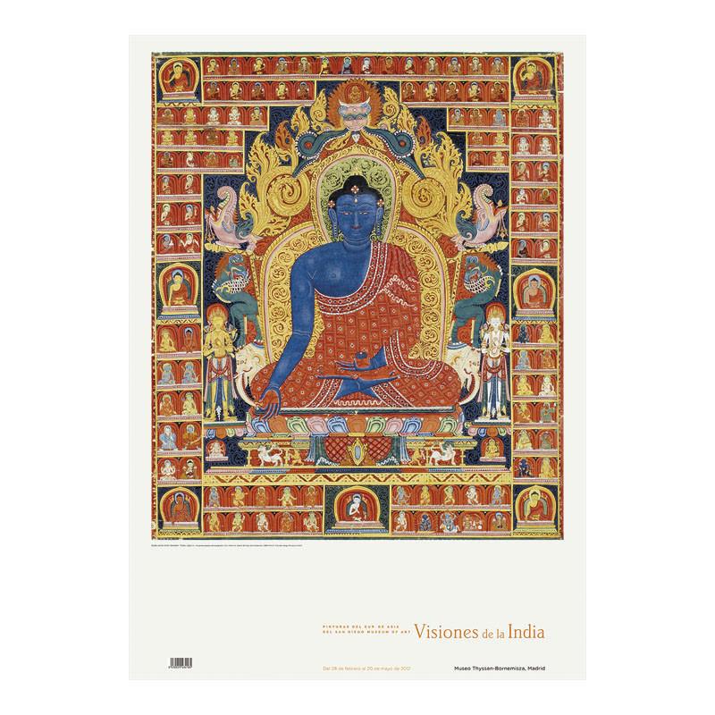 Póster Buda como Gran Sanador de Edwin Binney