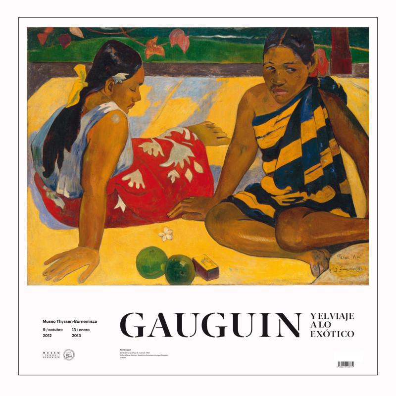 Poster Parau Api,Gauguin.Exp.Gauguin y el Viaje a lo Exótico