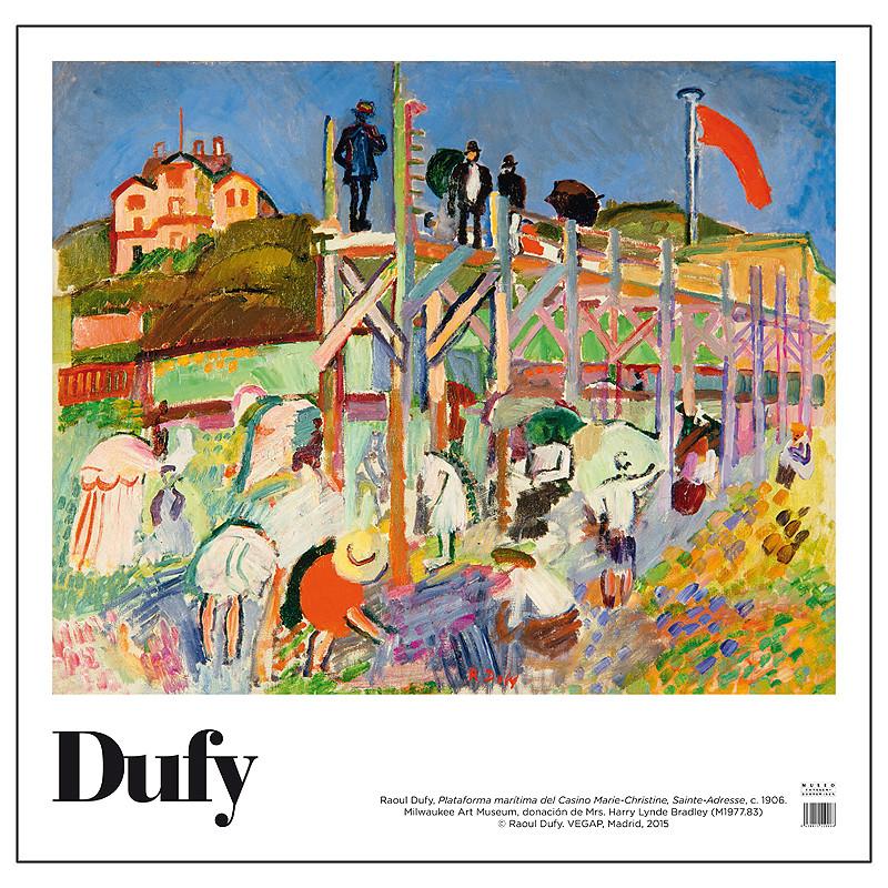 Poster Raoul Dufy: Plataforma marítima