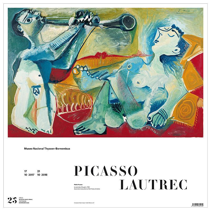 Poster La serenata (Pablo Picasso)