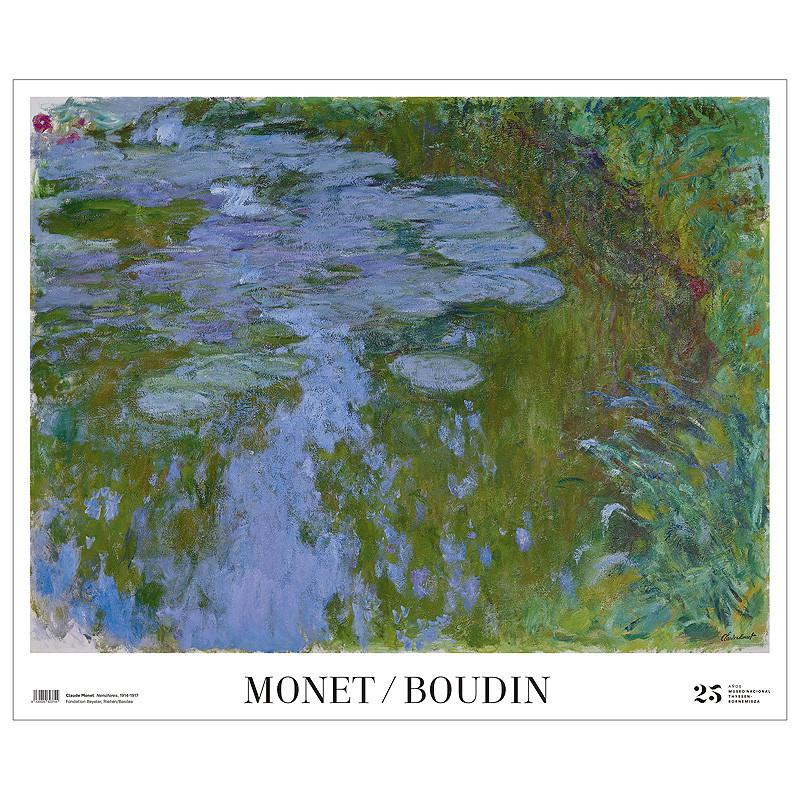 Póster Nenúfares de Monet