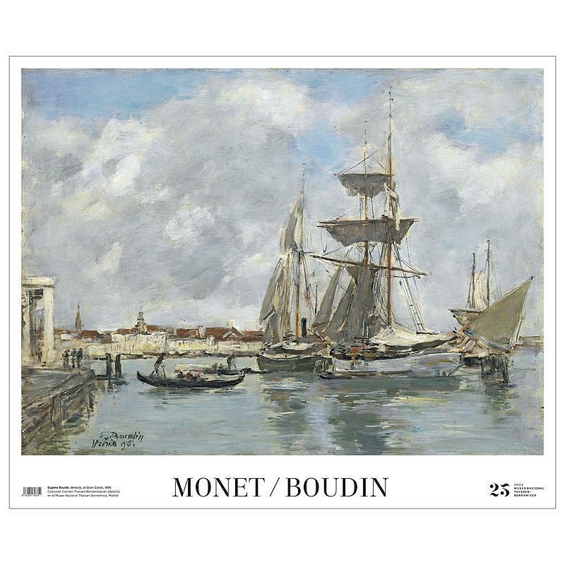 Póster Venecia de Boudin