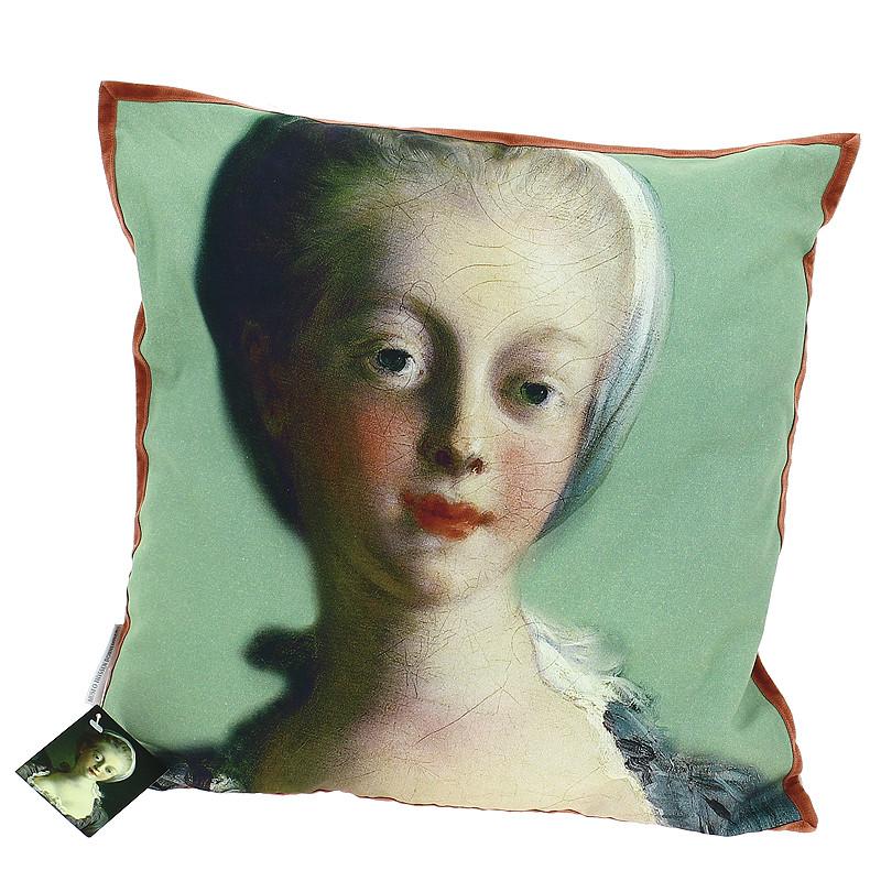 """Funda Cojín """"Retrato de joven dama"""""""