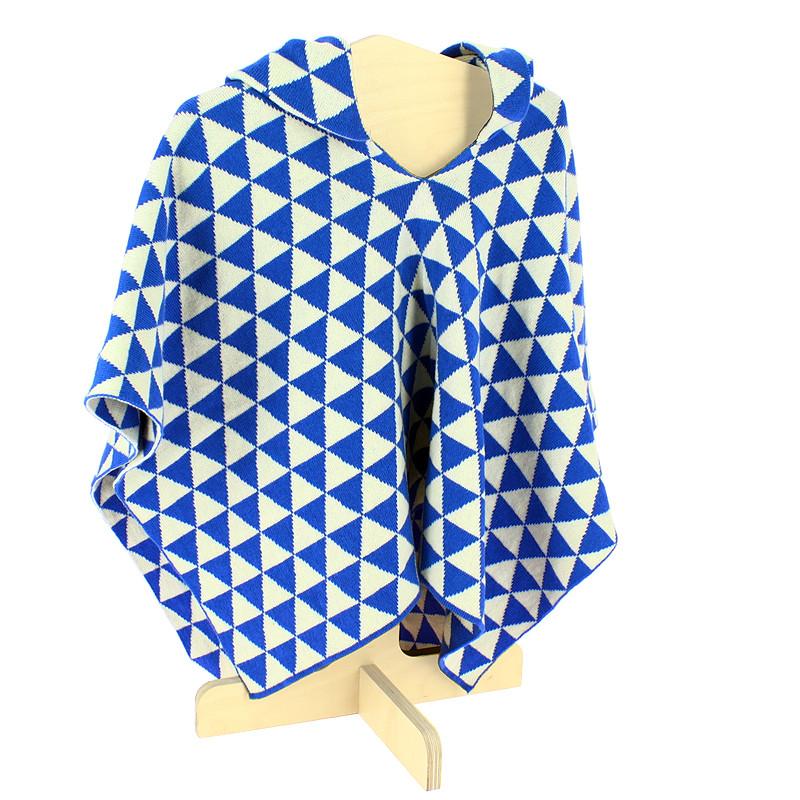 Poncho infantil triángulos Vestidos Simultáneos