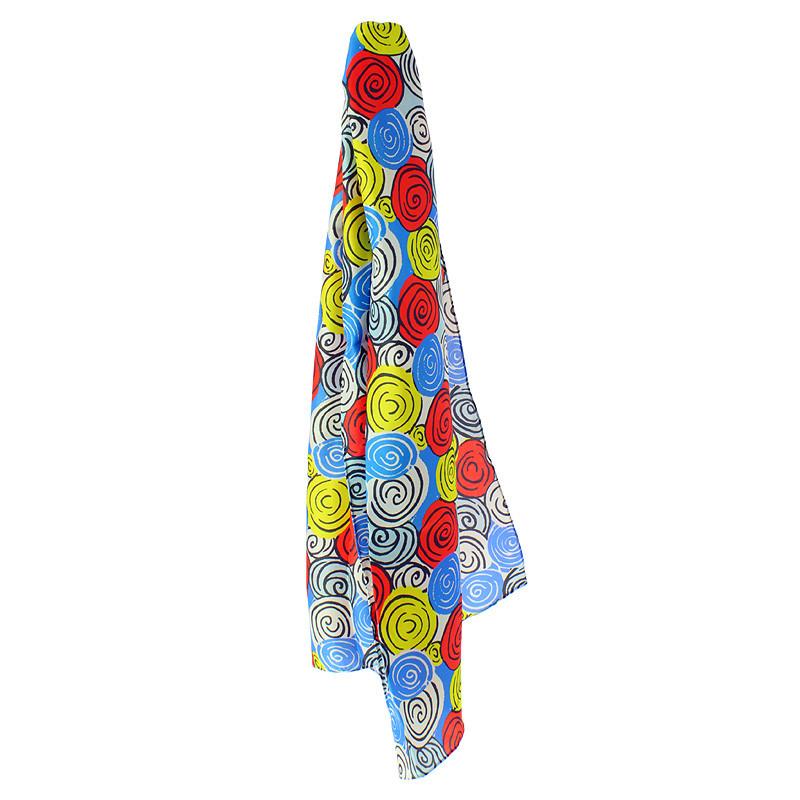 Foulard de seda Sonia Delaunay Diseño 1317