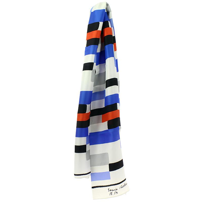 Foulard de seda Sonia Delaunay Diseño B53