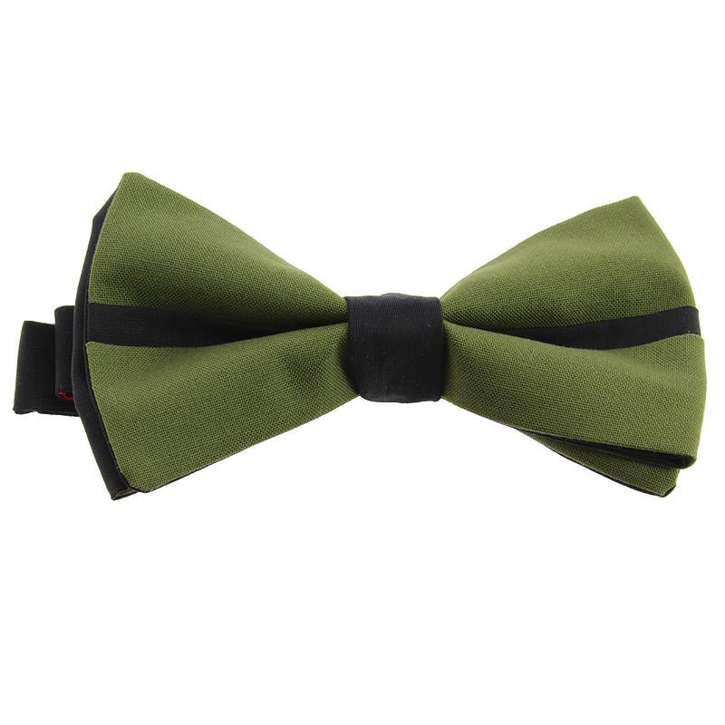 Pajarita reversible Verde + Negro / Verde El fumador de Juan Gris