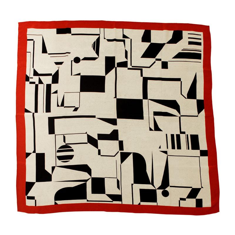 Pañuelo de seda Vasarely