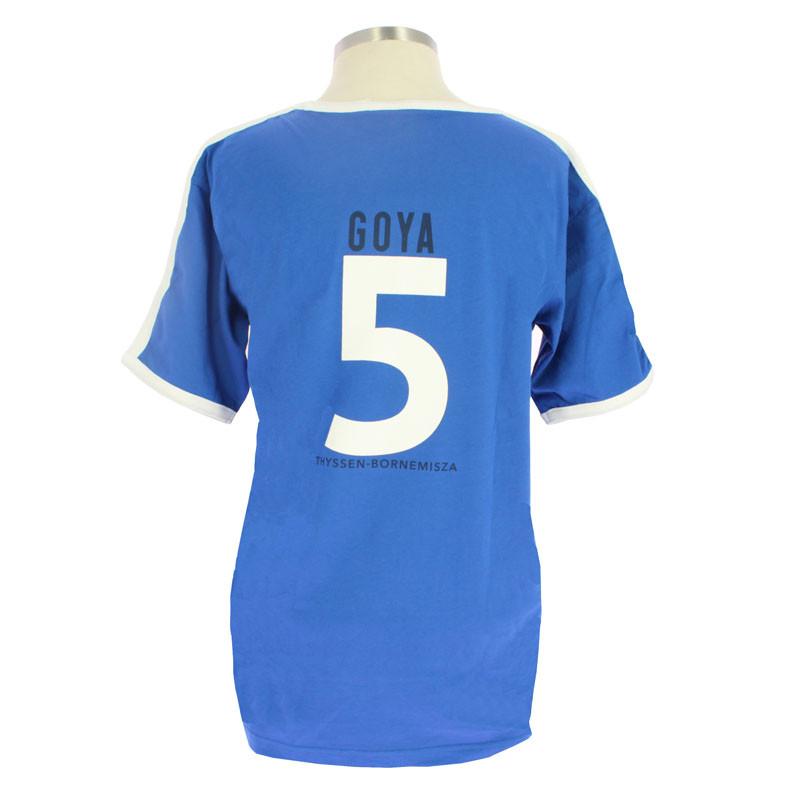 Camiseta futbol Goya
