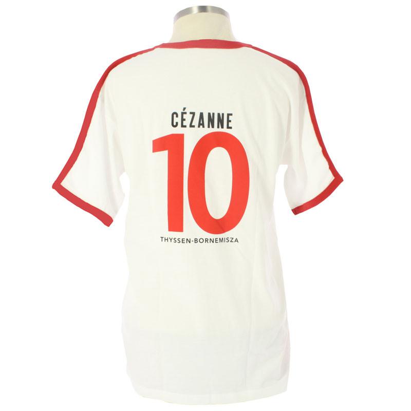 Camiseta futbol Cézanne