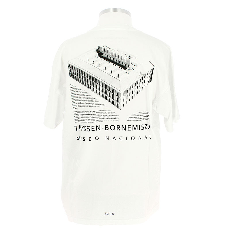 Camiseta Thyssen edificio