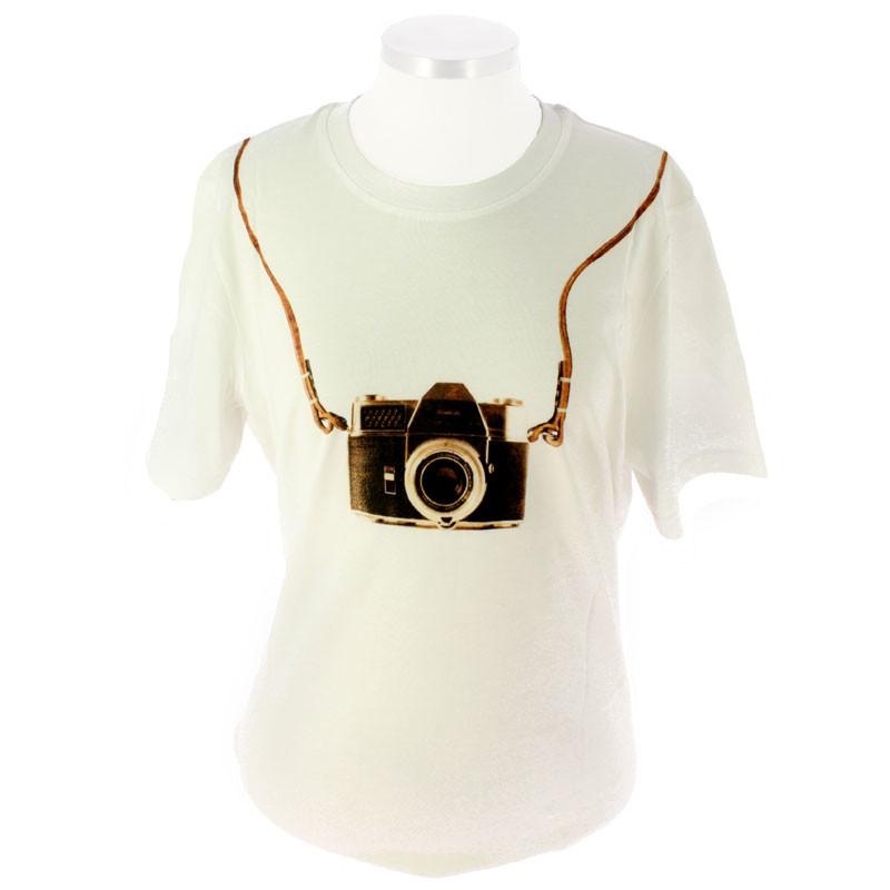 Camiseta cámara Los impresionistas y la fotografía