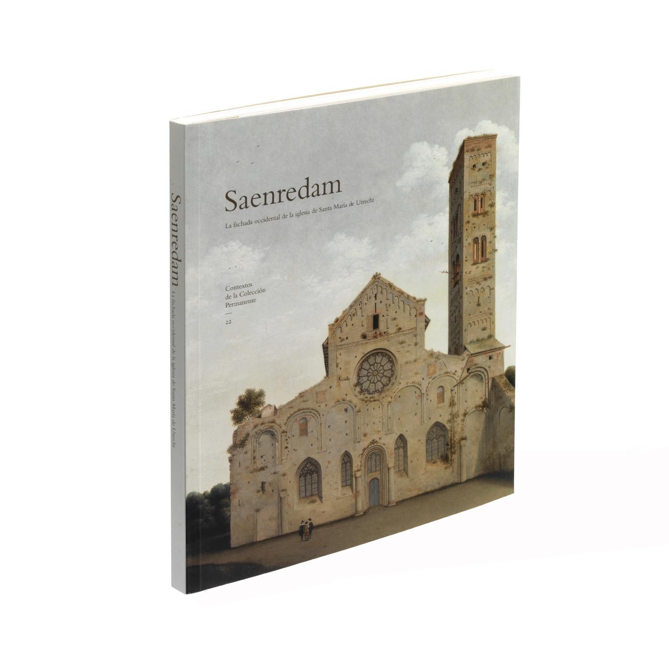 Catálogo de la exposición Saenredam; La fachada occidental de la iglesia de Santa María de Utrecht