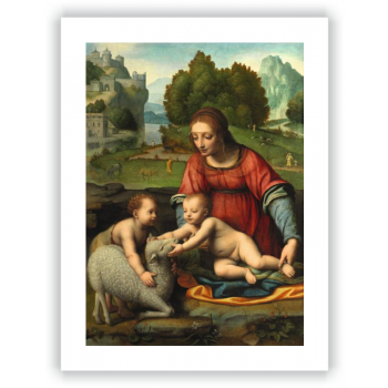 La Virgen con el Niño y San Juanito
