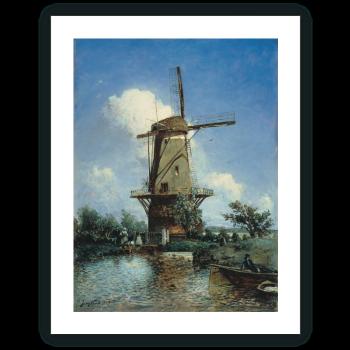Molino cerca de Delft