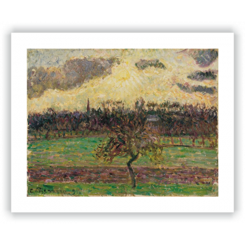 Prados de Éragny, el manzano
