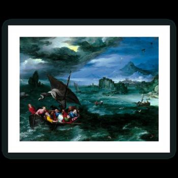 Cristo en la tempestad del mar de Galilea