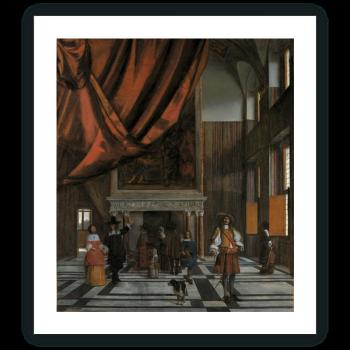 La Sala del Concejo del Ayuntamiento de Amsterdam