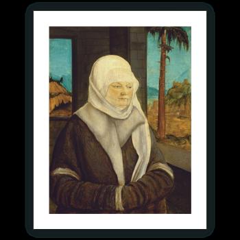 Retrato de una mujer de la familia Reuss