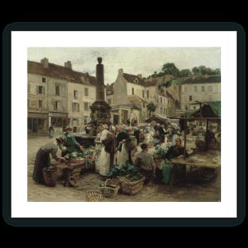 El mercado de Château-Thierry