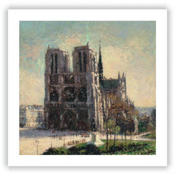 Vista de Notre-Dame, París