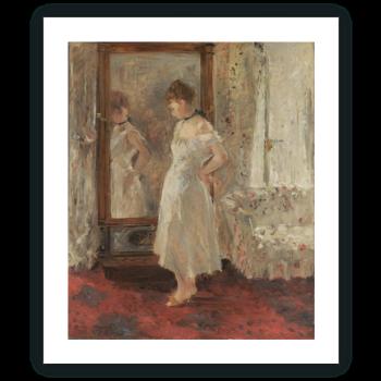 El espejo de vestir