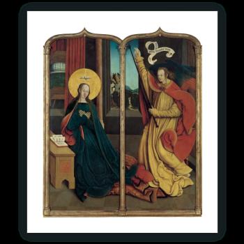 La Virgen de la Anunciación / El ángel de la Anunciación