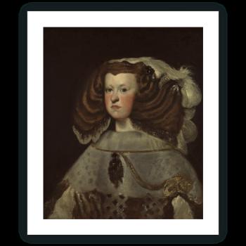 Retrato de Mariana de Austria, reina de España