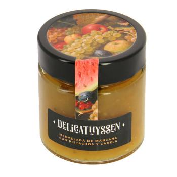 Mermelada de manzana con pistachos y canela Delicathyssen