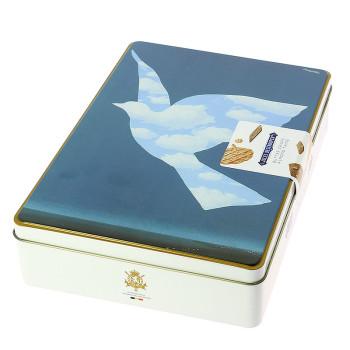 Caja de galletas Magritte: modelo paloma