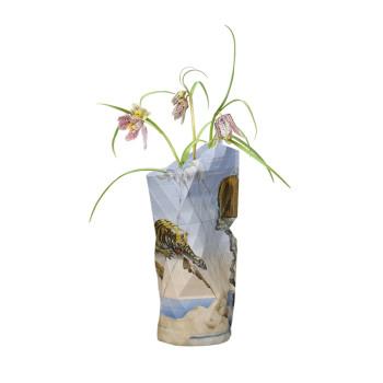 Florero pequeño de papel El sueño de Dalí
