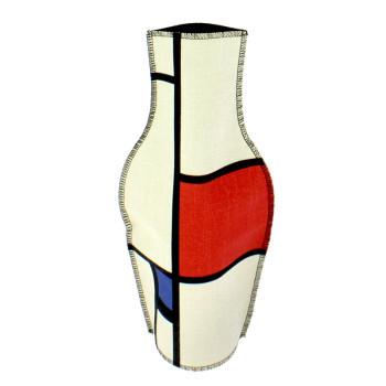 Funda de tela para jarrón Mondrian