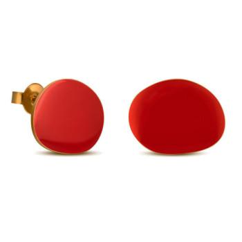 Pendientes rojo Miró