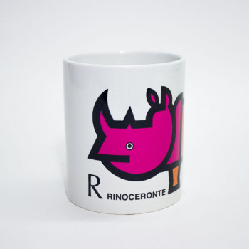 Taza Rinoceronte Cruz Novillo
