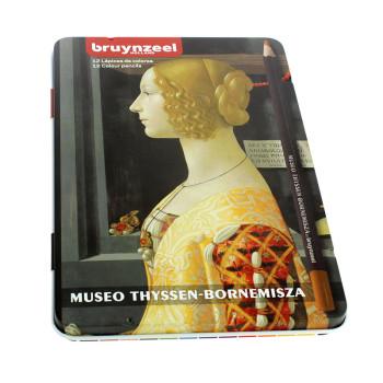 Caja de 12 lápices de colores Giovanna de Bruynzeel