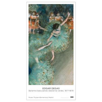 Póster Edgar Degas: Bailarina Basculando, 1877-1879