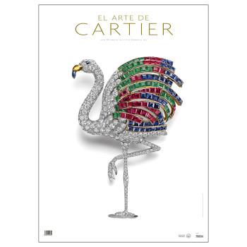 """Póster exposición """"El arte de Cartier"""""""