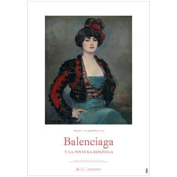 Póster Julia. Exposición Balenciaga y la pintura española