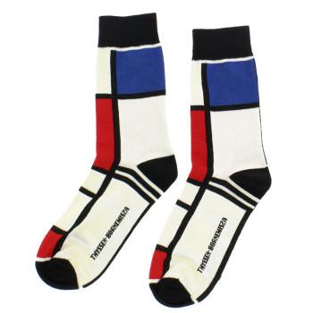 Calcetines Mondrian
