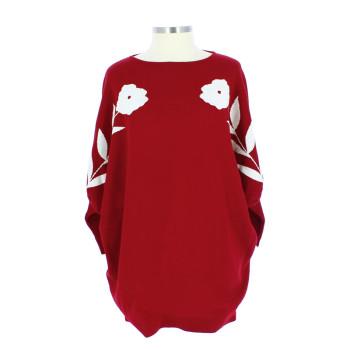 Jersey de lana rojo La Casita de Wendy + Linard